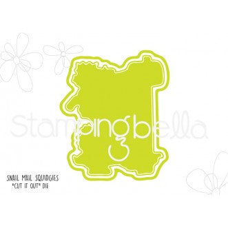 Stamping Bella CUT IT OUT Die Only SNAIL MAIL SQUIDGIES