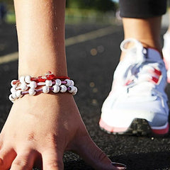 Count Me Healthy Cherry Wrap Bracelet