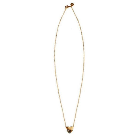 Corey Gold Heart Necklace