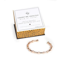 Wild at Heart Rose Gold Journal Bracelet