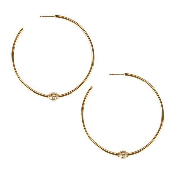 Briley Gold Hoops