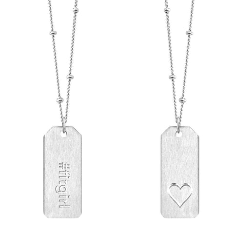 Love Tag Necklace - #fitgirl