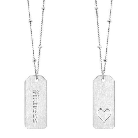 Love Tag Necklace - #fitness