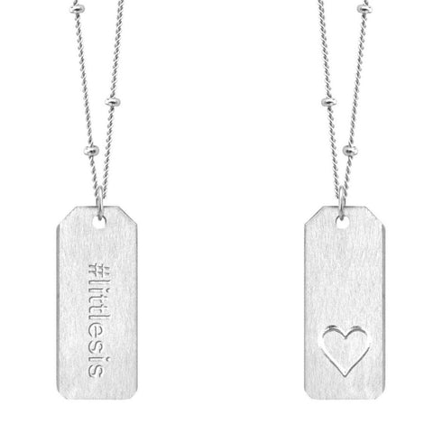 Love Tag Necklace - #littlesis