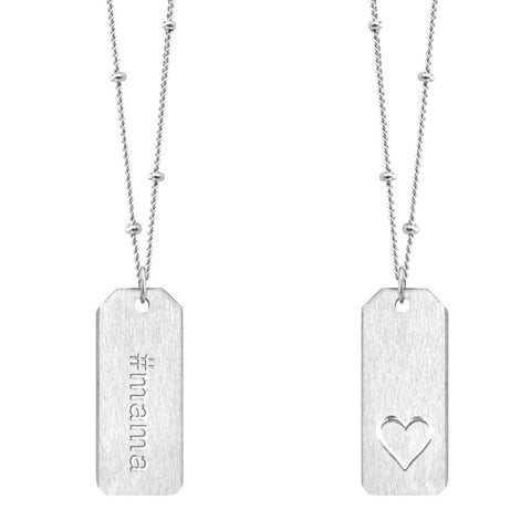 Love Tag Necklace - #mama