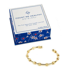 Count Me Healthy Original Gold Bracelet