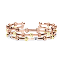 Count Me Healthy Penelope Rose Gold Stack by Chelsea Charles