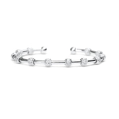 Golf Goddess Silver Score Counter Bracelet by Chelsea Charles