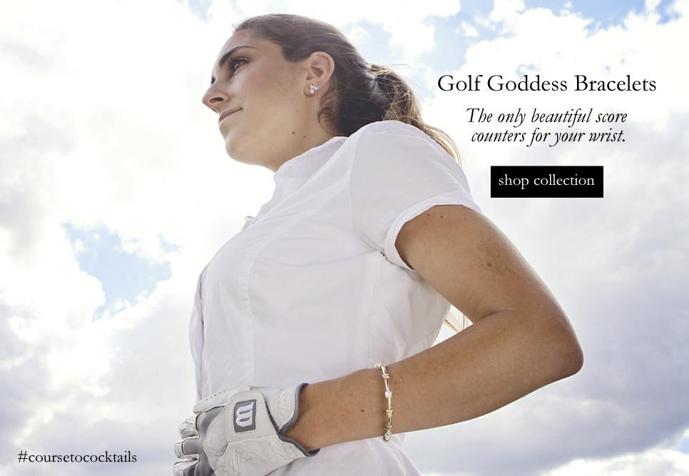 Chelsea Charles Golf Goddess Score Counter Bracelets