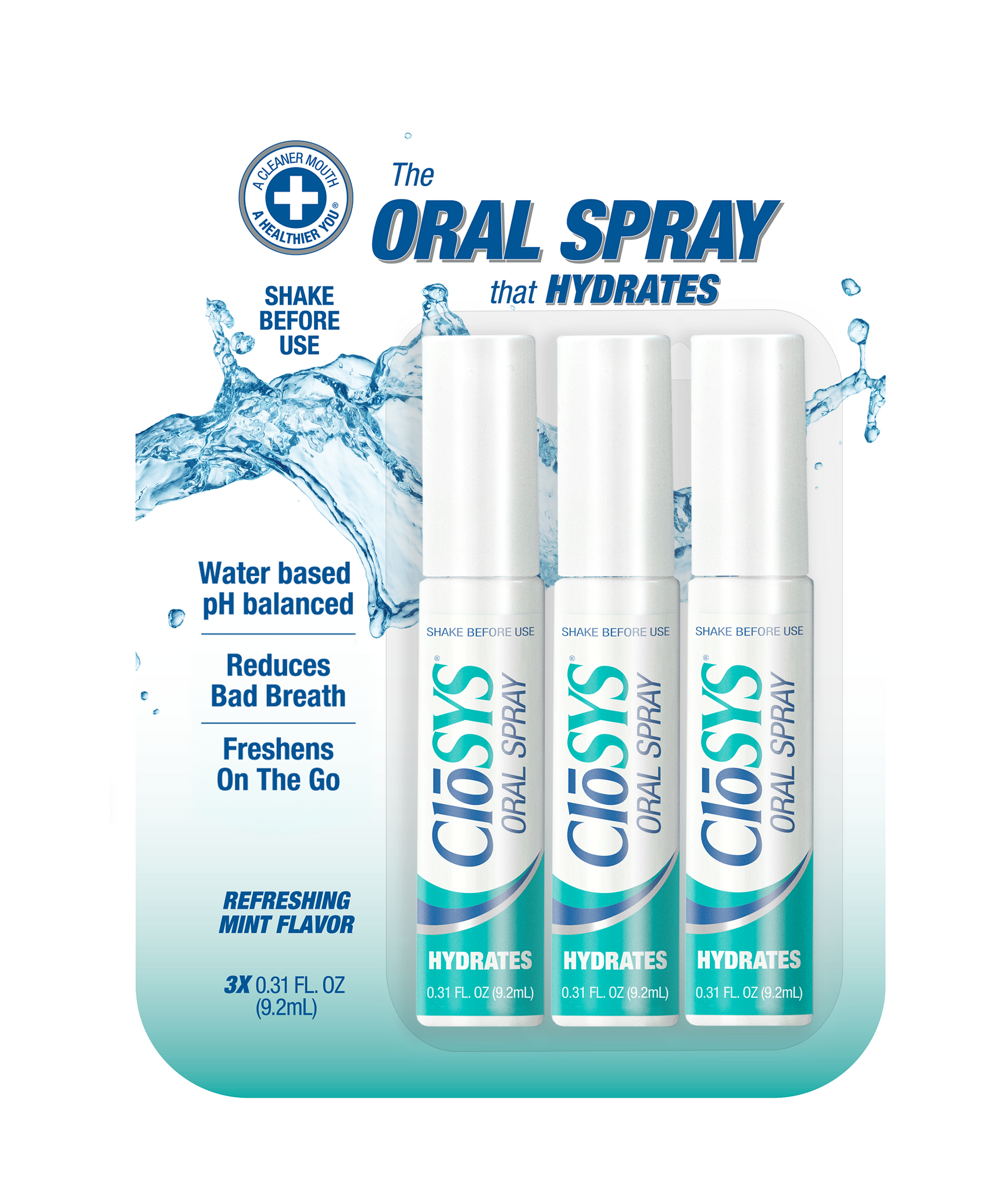 CloSYS Breath Spray