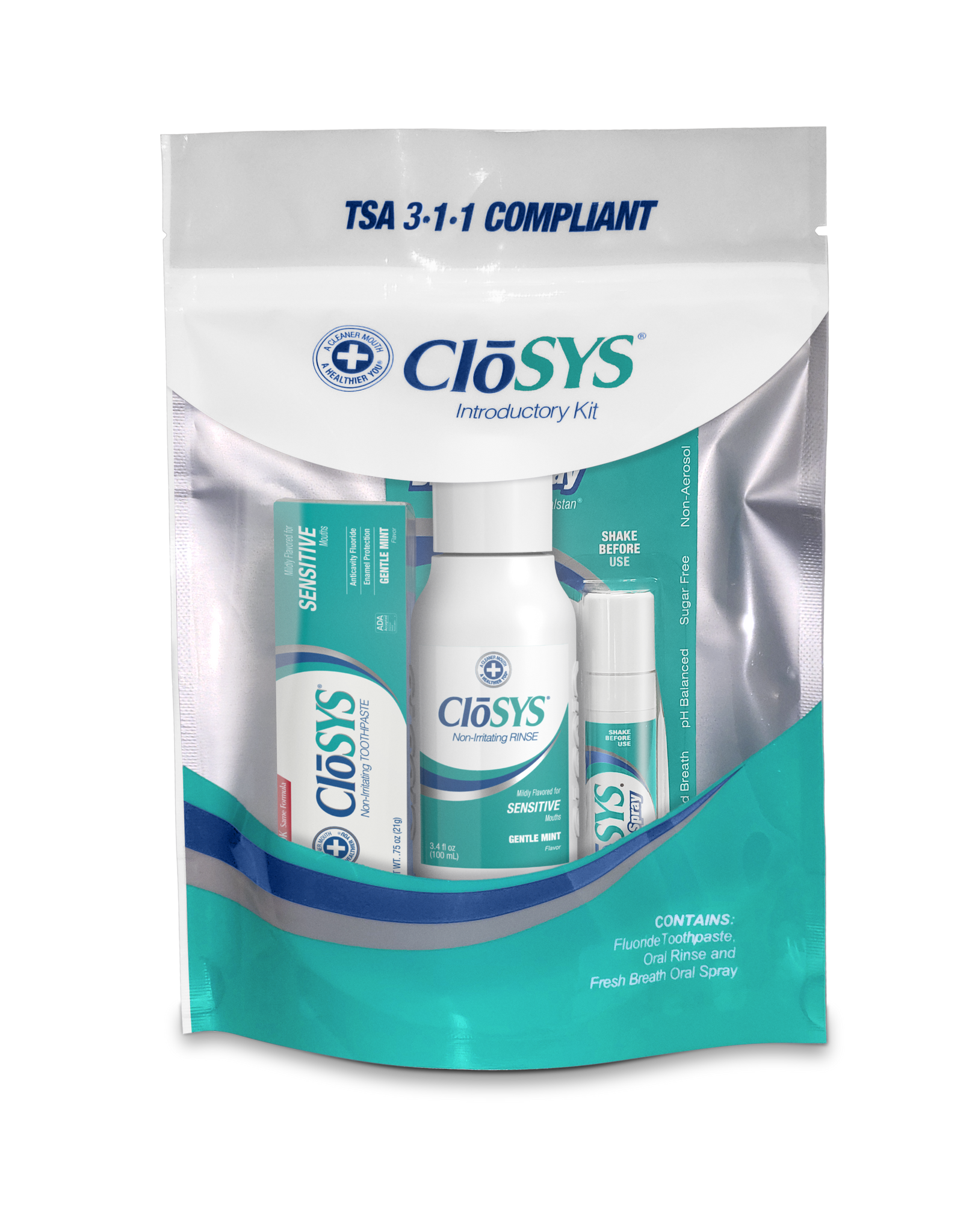 CloSYS Trial Size Intro Kit