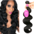 Load image into Gallery viewer, Natural color wig, real wig, hair extension, Brazilian body wave hair wig - PrettyLadies