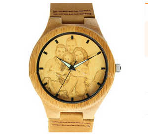 Bamboo and wooden watches with one to one pictures - PrettyLadies