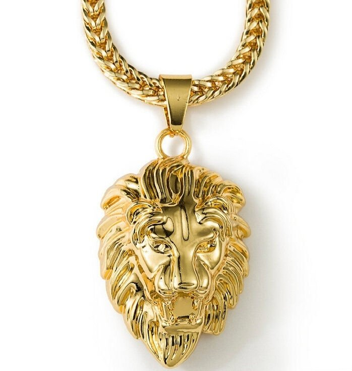 18K Gold Plated Gold Necklace(Color: Gold)