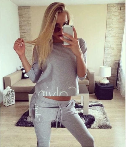 Women's Long Sleeve Tracksuit Set