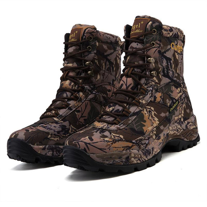 Army Boots Hiking Shoes Outdoor Boot Height Help Boots Mountaineering Boots Hunt Boots Outdoor Boots Labor Insurance Shoes Men'S Shoes Tide