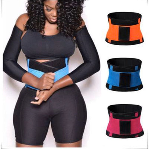 fitness belt body shaper waist trainer trimmer corset waist belt cincher wrap workout shapewear