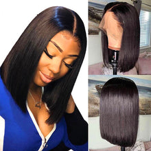Load image into Gallery viewer, Straight human hair wigs13 * 4 Brazilian Hair - PrettyLadies