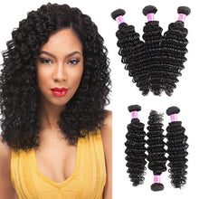 Load image into Gallery viewer, Brazilian Hair, Brazilian Hair, Wig, Deep Wave Curly Human Hair-