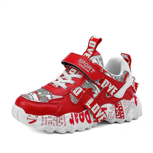 2020 breathable fashion sneakers lightweight basket sports casual sneakers children boys casual shoes