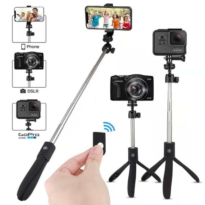 K07 Bluetooth Remote Control Integrated Tripod Mobile Phone Selfie Stick Live Selfie Artifact Universal