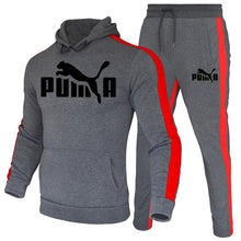 Load image into Gallery viewer, 2020 Autumn Winter Hot Brand Men Sets Stripe Thick Hoodies Tracksuit Men/Women Sportswear Gyms Fitness Training Sweatshirt - PrettyLadies