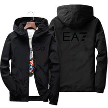 Load image into Gallery viewer, 2020 spring and autumn new fashion jacket men's street windbreaker polyester hoodie zipper thin jacket casual men jackets 7XL - PrettyLadies
