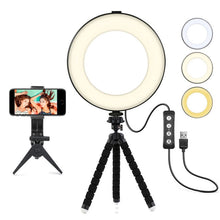 Load image into Gallery viewer, Photography Dimmable LED Selfie Ring Light - PrettyLadies