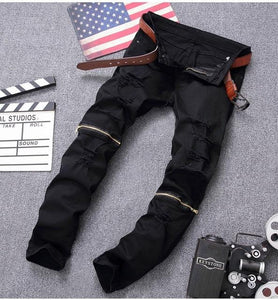 High Quality Biker Mens Jeans - PrettyLadies
