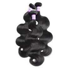 Load image into Gallery viewer, 100g human hair weaves body wave hair weft - PrettyLadies