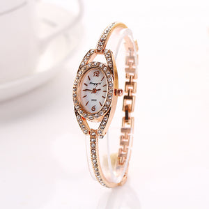 Women's Diamond Bracelet Watch - PrettyLadies