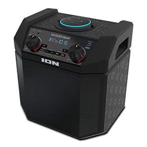 ION 50W Outdoor Echo Dot Speaker Dock/Portable Alexa Accessory With Bluetooth Connectivity and 50 Hour Rechargeable Battery-Tailgater Smart - PrettyLadies