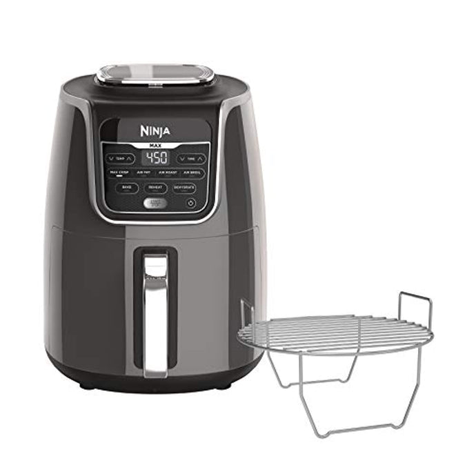 Ninja Max XL Air Fryer that Cooks, Crisps, Roasts, Broils, Bakes, Reheats and Dehydrates, with 5.5 Quart Capacity, and a High Gloss Finish - PrettyLadies