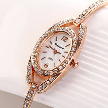 Load image into Gallery viewer, Women's Diamond Bracelet Watch - PrettyLadies