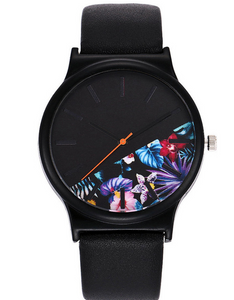 Printed quartz watch watches - PrettyLadies