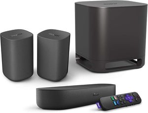 Roku Streambar | 4K/HD/HDR Streaming Media Player & Premium Audio, All In One, Includes Roku Voice Remote, Released 2020 - PrettyLadies