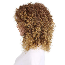 Load image into Gallery viewer, Fashionable chemical short curly hair wig - PrettyLadies