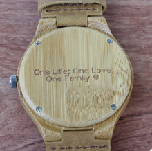 Load image into Gallery viewer, Bamboo and wooden watches with one to one pictures - PrettyLadies