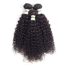 "Load image into Gallery viewer, YYONG Hair Company Brazilian Kinky Curly Hair Weave 3 Bundles Unprocessed Virgin Hair, 6""6""6"" - PrettyLadies"