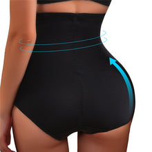 Load image into Gallery viewer, high waist plus-size shaping panties women lift hip slimming waist shapewear - PrettyLadies