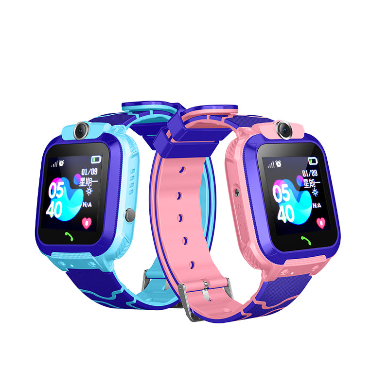 2019 New Design SOS Remote monitor Kids smart watch music wristwatch kids sos smart watch Q12 - PrettyLadies