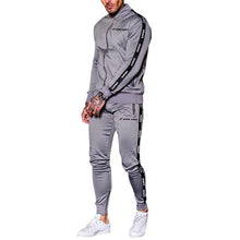 Load image into Gallery viewer, OHMYJUST men tracksuits men long sleeve sport wear joggers suit - PrettyLadies