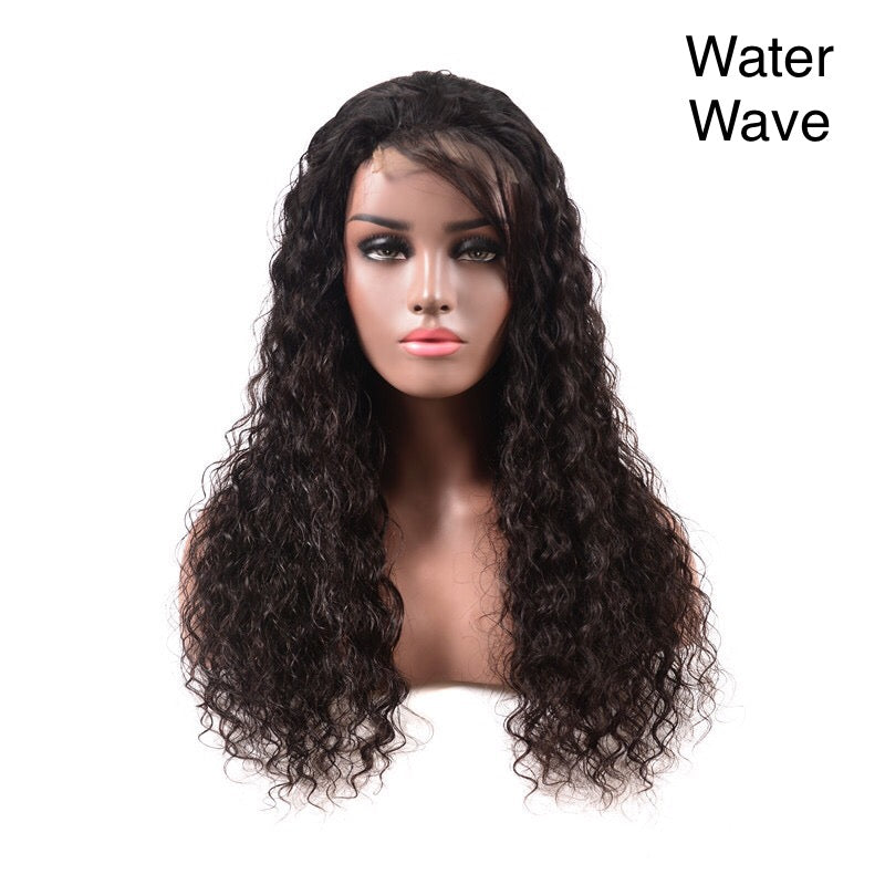 150% 180% Density HD Full Lace Human Hair Wigs For Black Women,Wholesale Brazilian Virgin Hair Transparent Lace Front Wig - PrettyLadies