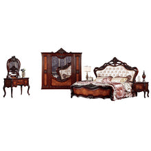 Load image into Gallery viewer, American King Size Double Carved Bed - PrettyLadies