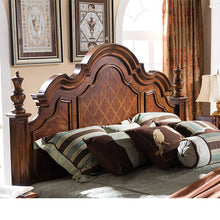 Load image into Gallery viewer, American high-grade birch wood bedroom furniture set king size bed GH18 - PrettyLadies