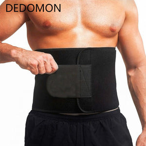 Neoprene Sauna Waist Trainer Slimming Belt Sweat Belt Shaper Fat Burn Shaperwear Adjustable Slimming Wraps Fajas Slimming Belt - PrettyLadies