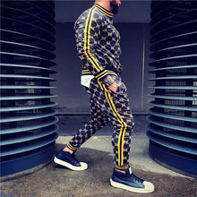 Load image into Gallery viewer, Men tracksuit Fashion Men Tracksuit Sets Mens set - PrettyLadies