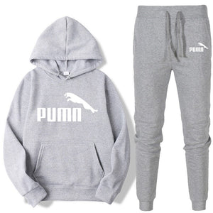 Winter Tracksuit Women 2 Piece Set Print Hoodies+pants Sportwear Women's Sports Suit Hooded Sweatshirt Set Female Winter Clothes - PrettyLadies