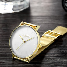 Load image into Gallery viewer, Women's Watch Rose gold Women's Watch 2020 women mesh belt ultra-thin fashion relojes para mujer luxury wristwatches reloj mujer - PrettyLadies