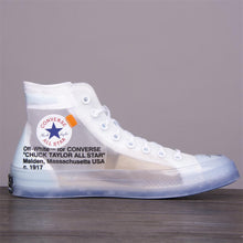 Load image into Gallery viewer, Convers  ice blue high-top shoes - PrettyLadies